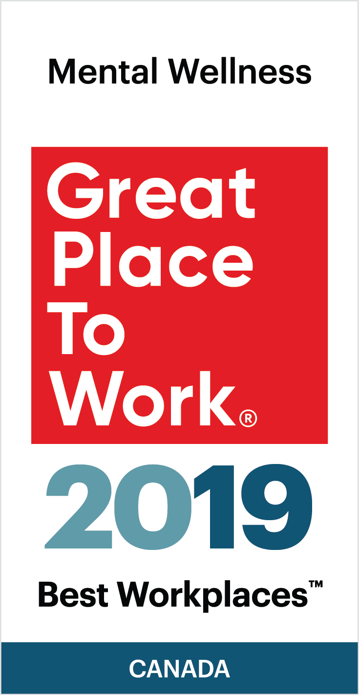 2019 Best Places To Work Best Workplaces for Mental Wellness 2019   Great Place To Work Canada
