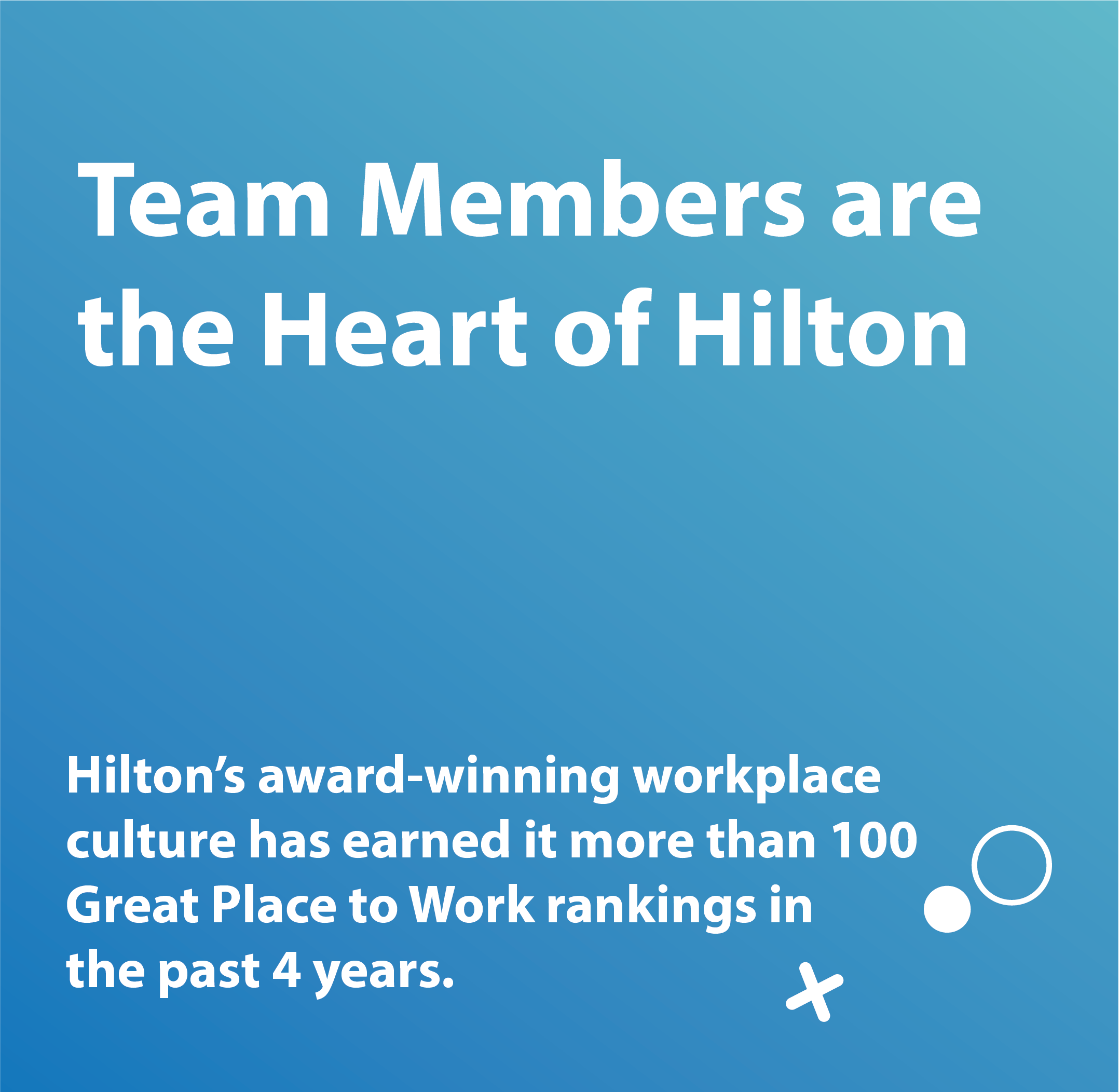 Team members are the heart of Hilton