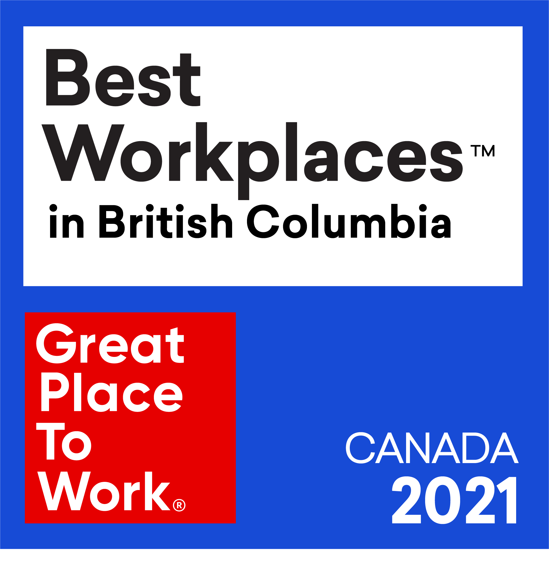 Best Workplaces in British Columbia 2021