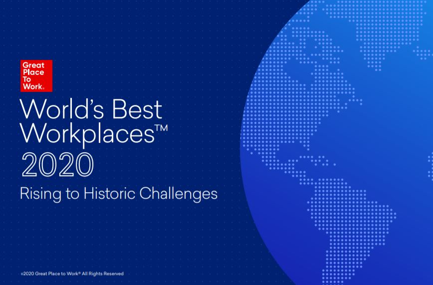 World's Best Workplaces™ 2020: Rising to Historic Challenges